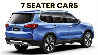 6 NEW 7 SEATER CARS LAUNCHING IN INDIA IN 2020 | NEW 7 SEATERS CARS COMING TO INDIA