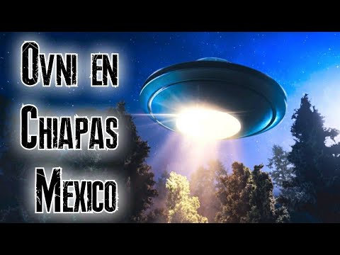 Ovni o Meteorito cae en Chiapas Mexico