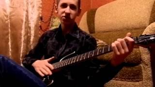 Агата Кристи - Как на войне (видеоразбор на гитаре)