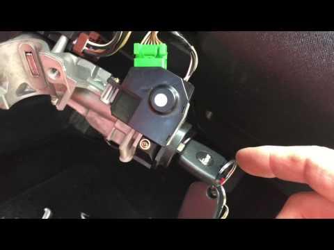 HONDA CRV 2002 ignition replacement + transponder chip transfer