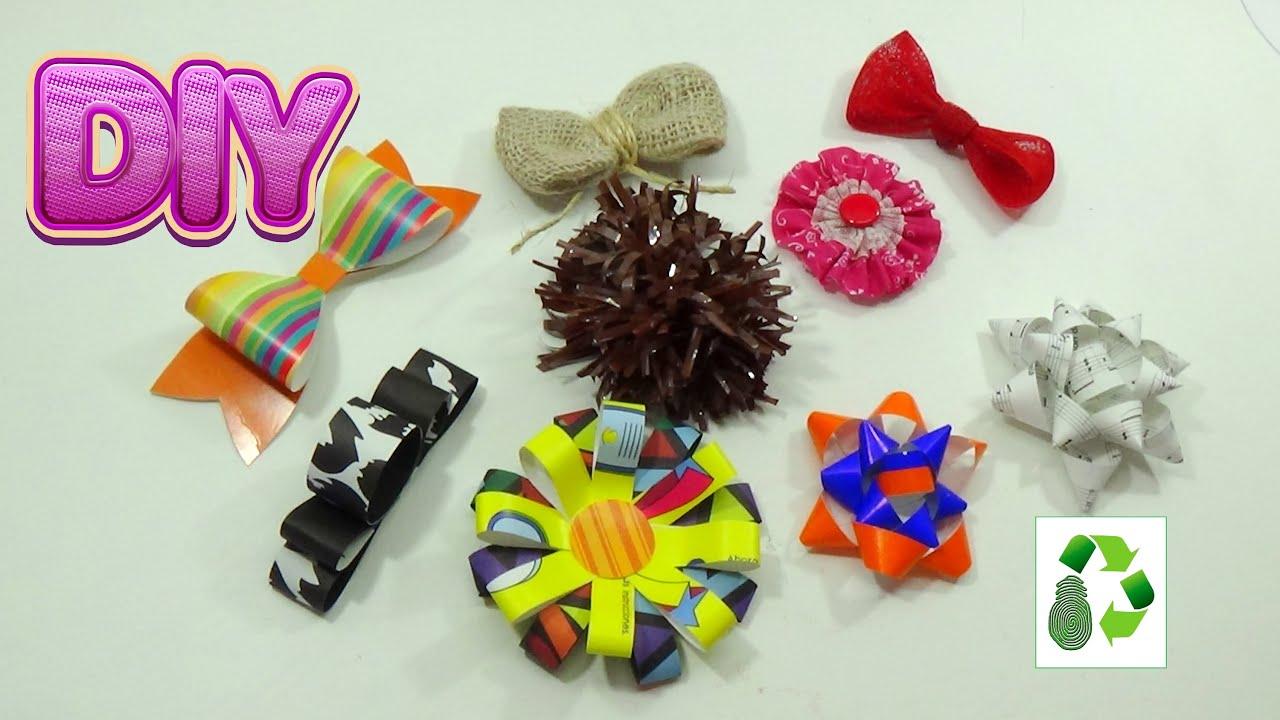 Como Decorar En Navidad Con Materiales Reciclables