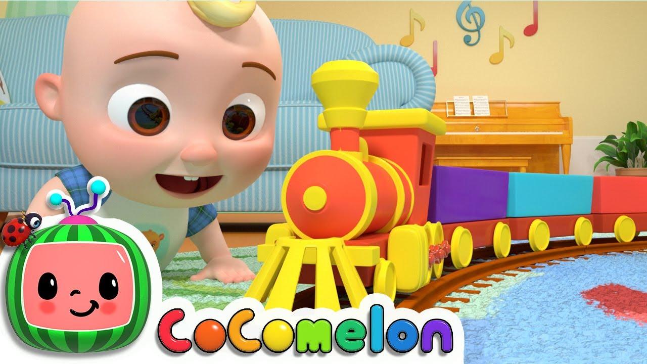 Train Song   CoComelon Nursery Rhymes & Kids Songs