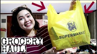 GROCERY HAUL + Travel Plans | Philline Ina Vlogs