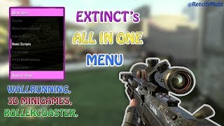 All-In-One (AIO) NEW INSANE GSC MENU BY EXTINCT! (AMAZING SPAWNABLES, MINI-GAMES + MORE) | BO2