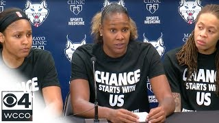 4 Officers Walk Out Of Lynx Game Over Black Lives Matter Shirts