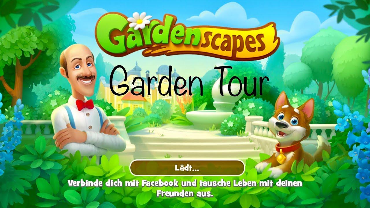 Gardenscapes Overview Garden Tour Level 2800 Youtube