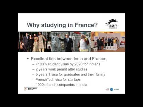 Rennes Business School  Webinar by Maud Le Bars | STUDY IN F