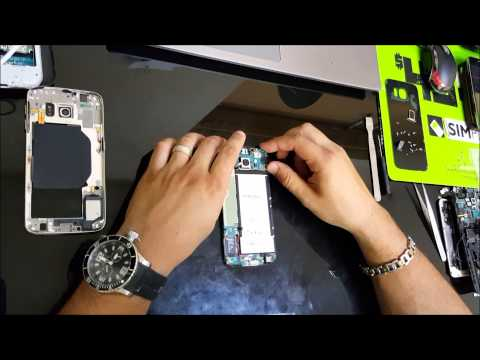 Samsung Galaxy S6 - How To Take Apart & Replace LCD Glass Screen