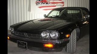 1990 Jaguar XJS test drive