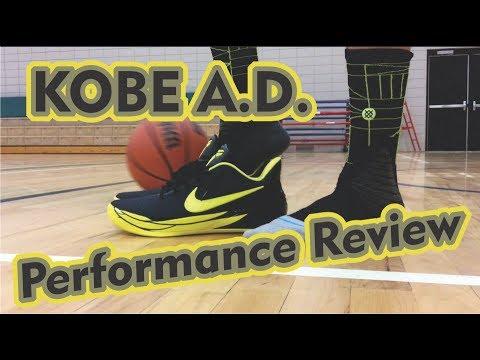 Performance Review: Nike Kobe A.D.