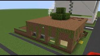 Fakir vs Zengin Evi - Minecraft Modern Evler