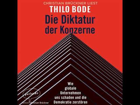 Die Diktatur der Konzerne YouTube Hörbuch Trailer auf Deutsch