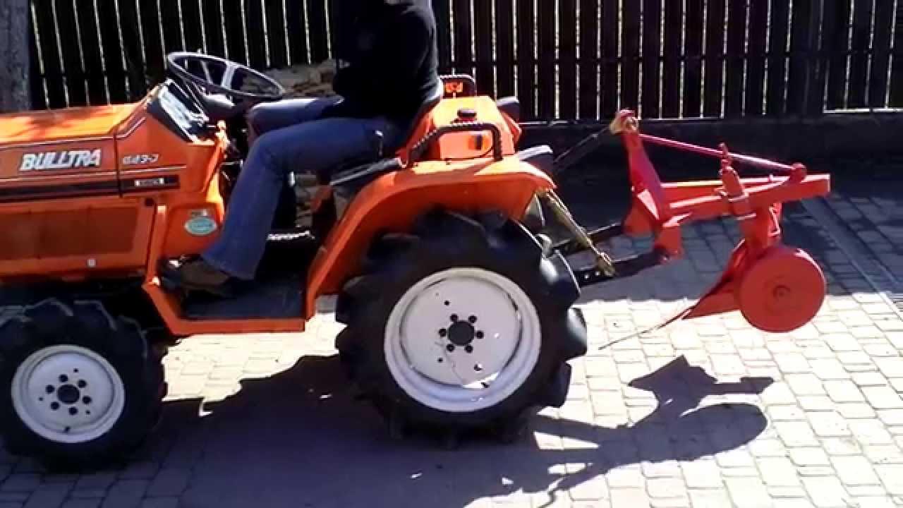traktory małe