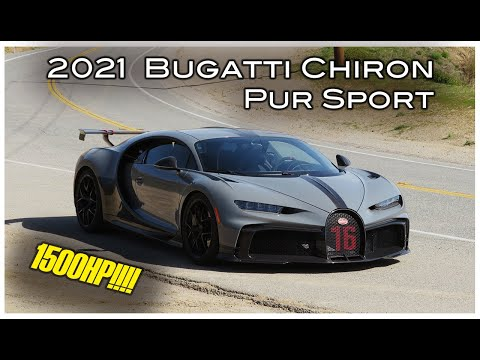 The Bugatti Chiron Pur Sport Is A 1500 HP, $3.9M Canyon Carving Missile - One Take
