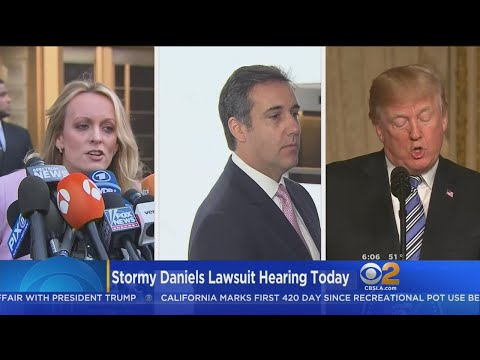 Trump Lawyers Want Stormy Daniels Case Delayed After Raid On Attorney's Office