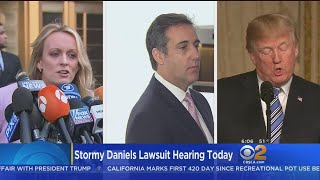 Trump Lawyers Want Stormy Daniels Case Delayed After Raid On Attorney's Office thumbnail