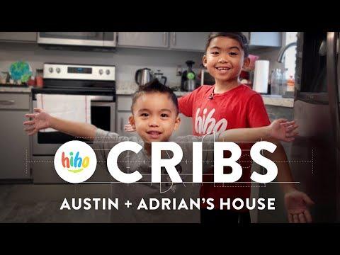 HiHo Cribs Austin & Adrian's House | HiHo Cribs | HiHo Kids