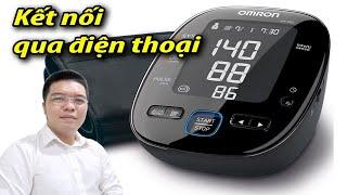 Cách sử dụng máy đo huyết áp Kết nối điện thoại Omron  Hem-7280T #suckhoe60s