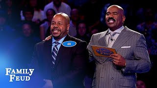 Can Gil get 38 points with his FINAL answer?   Family Feud