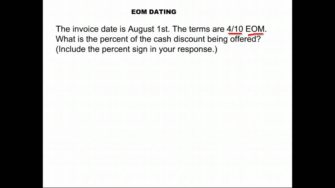 eom dating