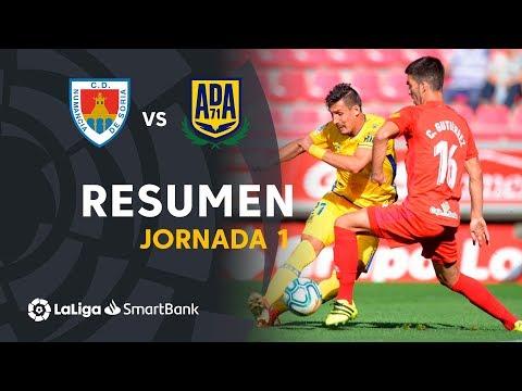 Resumen de CD Numancia vs AD Alcorcón (0-1)