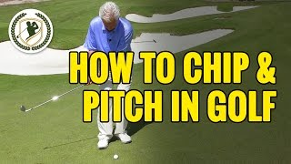 HOW TO CHIP & PITCH A GOLF BALL - 2 COMMON PITFALLS SOLVED