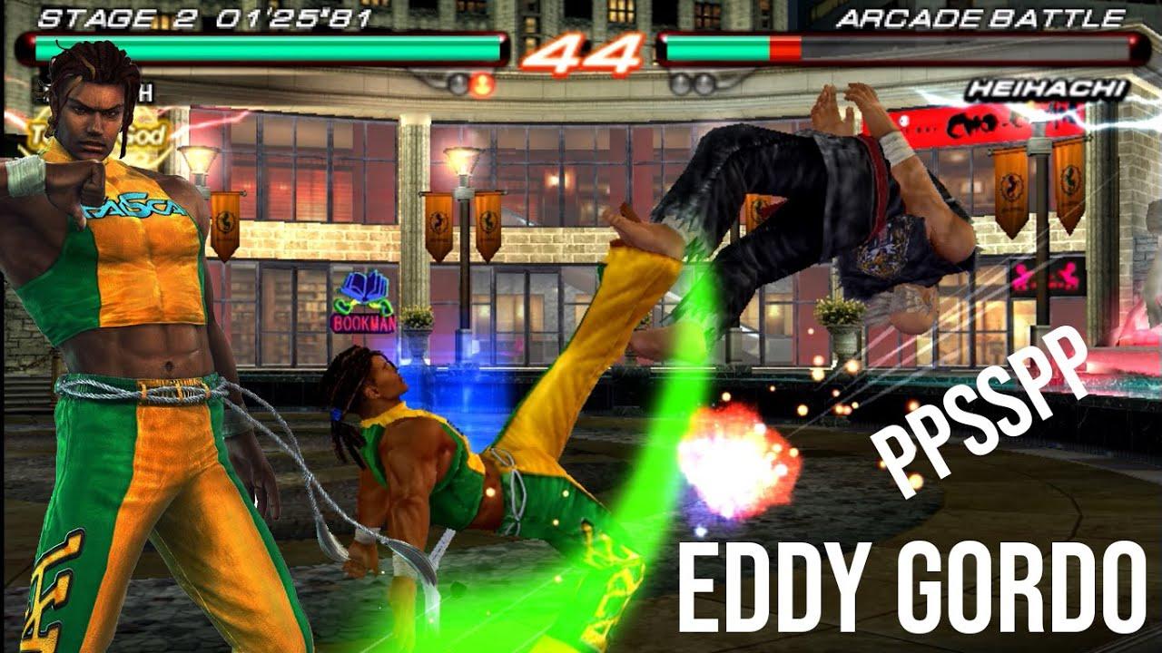 tekken 6 no tas eddy gordo ultra hard ppsspp youtube youtube