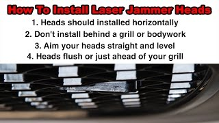 ALP Setup: How to Install Laser Jammer Heads In Your Vehicle