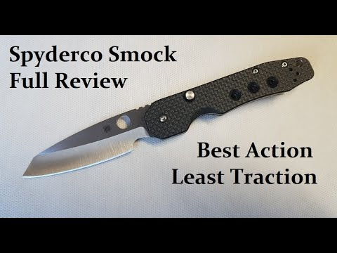 Spyderco Smock Full Review and Discussion