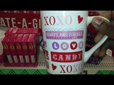 Dollar Tree!! Valentine's Day mugs 2016 I found them💘💘