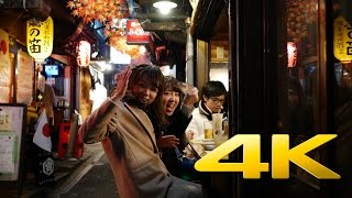 Shinjuku by Night Part II - Tokyo - 新宿区 - 4K Ultra HD