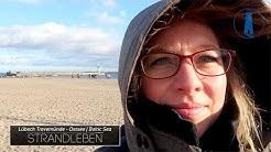 🔴 Urlaub: Strandleben in Travemünde mal ganz ohne Regen  - Strand, Meer, Ostsee