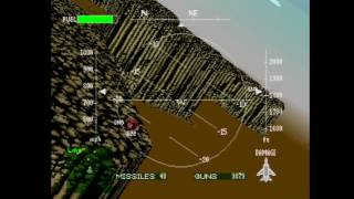 Air Combat (Ace Combat 1) | Mission 8 | Destroy enemy staging zone!