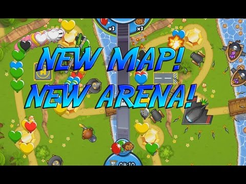 NEW MAP - NEW ARENA - Bloons Super Monkey 2 ARENA