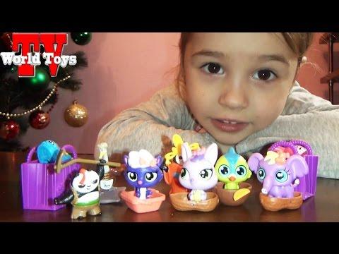 Видео, Шопкинс, открываем маленькие игрушки  VLOG  Shopkins toys
