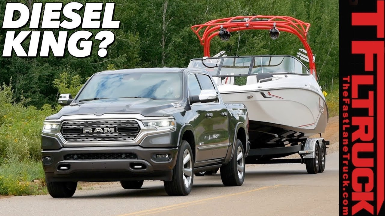 Here Is How The 2020 Ram 1500 Ecodiesel Tows And Goes Off Road First Drive Review