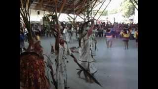 Danza Shipibo del Min. de Agricultura en la ExpoAmazonica Ucayali 2012