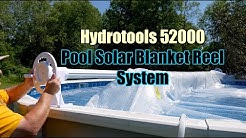 Hydrotools 52000 (by Swimline) Above Ground Swimming Pool Solar Blanket Reel Install & Review