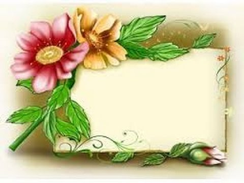 How to make your pic beautiful by Photo Flower Frames - YouTube