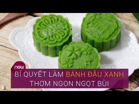 Hướng dẫn làm bánh đậu xanh cúng rằm tháng Bảy   VTC Now