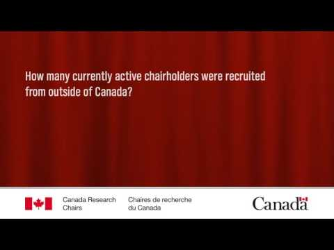 Canada Research Chairs - Q&A - English
