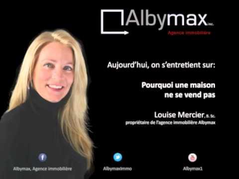 albymax, pourquoi une maison ne se vend pas? - youtube