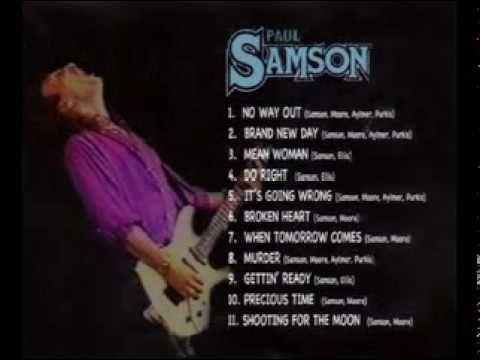 Paul Samson - Shooting For The Moon