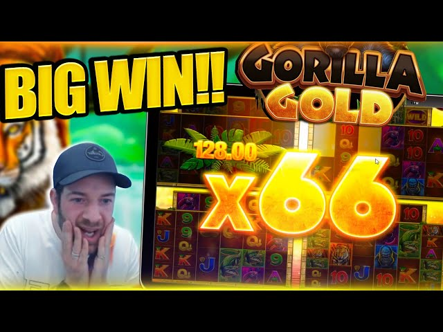 INSANE MULTIPLIER ON GORILLA GOLD MEGAWAYS!! Huge Slot Win!