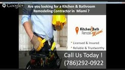 Kitchen Remodeling Miami | Bathroom Remodeling Miami