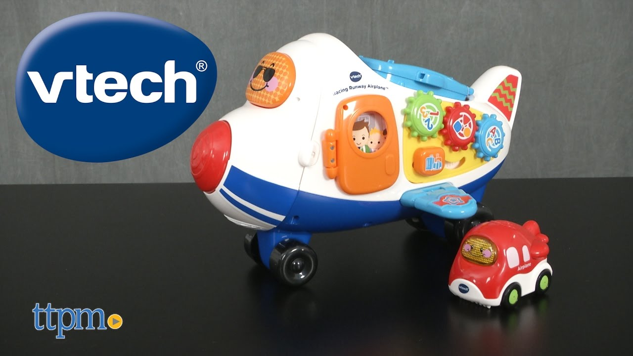 Go Go Smart Wheels Racing Runway Airplane From Vtech Youtube