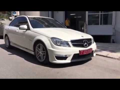 MERCEDES C CLASS W204 REPLACEMENT TO FACELIFT C63 AMG COMPLETE BODY KIT  TOLIAS EDITION
