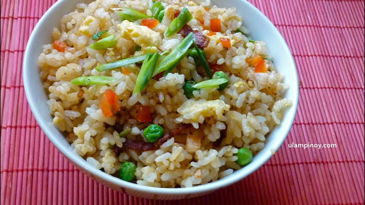 how to make pinoy java rice