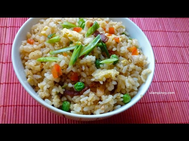 How to make easy fried rice using leftover rice 14 steps ccuart Images