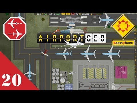 Airport CEO Let's Play 20 - Terminal B Baggage Handling